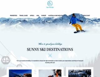 sunandskihomes.co.uk screenshot