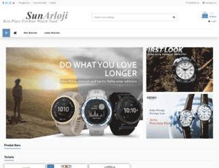 sunarloji.com screenshot