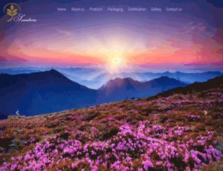 sunatura.com screenshot