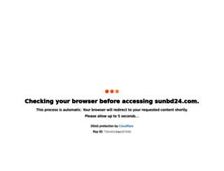 sunbd24.com screenshot