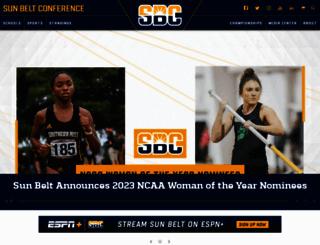 sunbeltsports.org screenshot