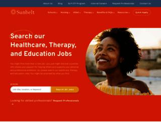 sunbeltstaffing.com screenshot