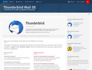 sunbird-kalender.de screenshot