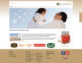 sunbulahgroup.com screenshot