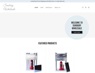 sunburywholesale.com screenshot