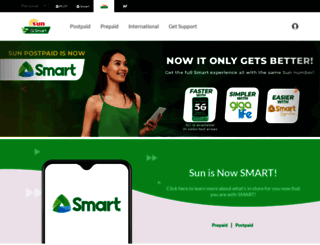 suncellular.com.ph screenshot
