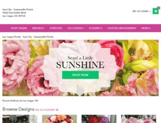 suncity-summerlinflowers.com screenshot