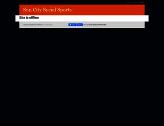 suncitysocialsports.leagueapps.com screenshot