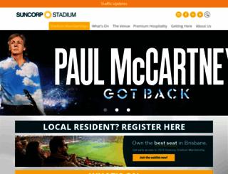 suncorpstadium.com.au screenshot