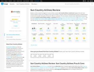 suncountryairlines.knoji.com screenshot