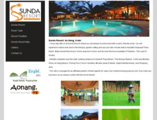sunda-resort.com screenshot