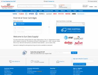 sundatasupply.com screenshot