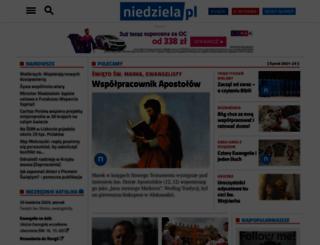 sunday.niedziela.pl screenshot