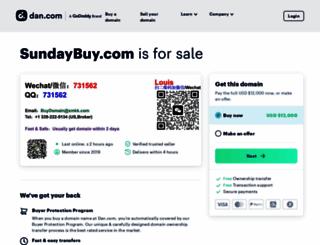 sundaybuy.com screenshot