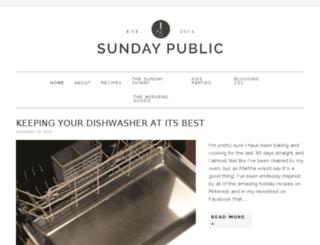 sundaypublic.com screenshot