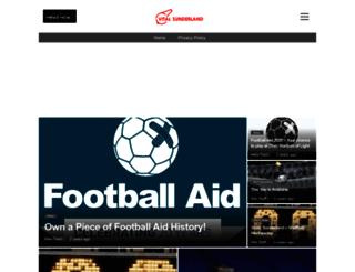 sunderland.vitalfootball.co.uk screenshot