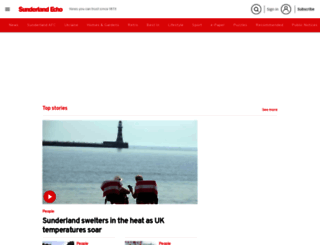 sunderlandecho.com screenshot