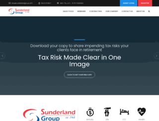 sunderlandgroup.com screenshot