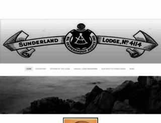 sunderlandlodge4114.weebly.com screenshot
