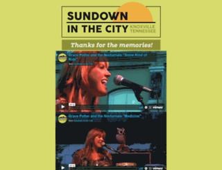 sundowninthecity.com screenshot