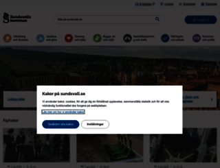 sundsvall.se screenshot