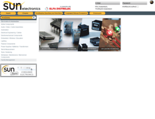 sunelectronics.gr screenshot
