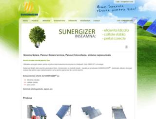 sunergizer.ro screenshot