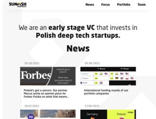 sunfish-partners.com screenshot