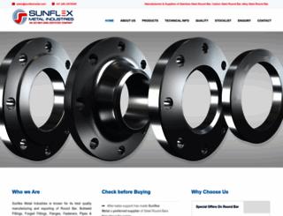 sunflexmetal.com screenshot