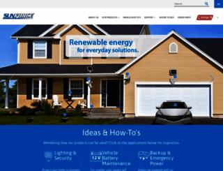sunforceproducts.com screenshot