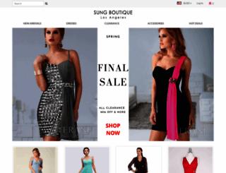 sungboutiquela.com screenshot