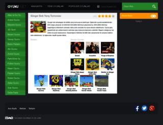 sungerbobyaristurnuvasi.oyunu.net screenshot