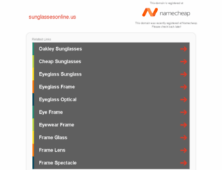 sunglassesonline.us screenshot