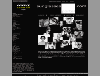 sunglassesportal.com screenshot