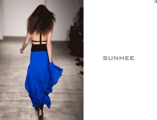 sunheeny.com screenshot