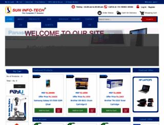 suninfotechindia.com screenshot