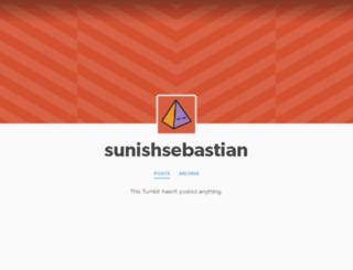 sunishsebastian.tumblr.com screenshot