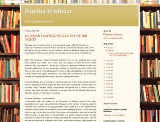 sunithakrishnan.blogspot.com screenshot