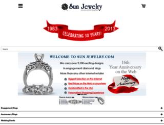sunjewelry.com screenshot