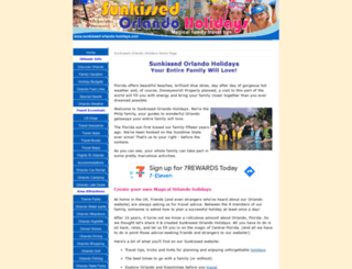 sunkissed-orlando-holidays.com screenshot