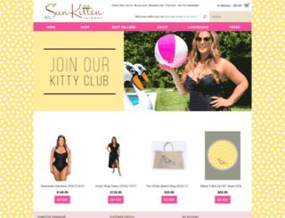 sunkittenswimwear.com screenshot