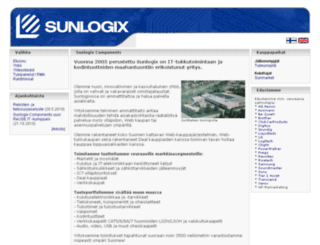 sunlogix.fi screenshot
