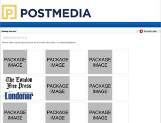 sunmediaontario.adperfect.com screenshot
