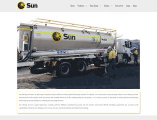 sunminingservices.com.au screenshot