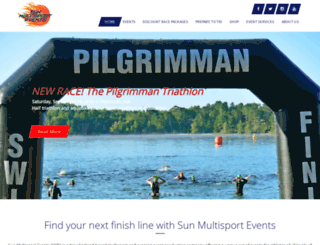sunmultisportevents.com screenshot