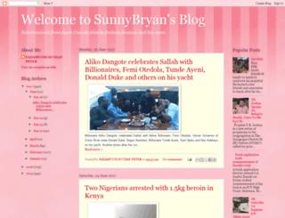 sunnybryan.blogspot.com screenshot