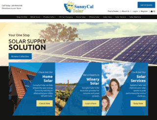 sunnycalsolar.com screenshot