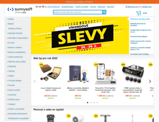 sunnysoft.cz screenshot