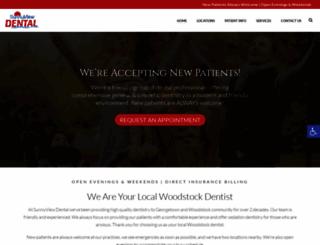 sunnyviewdental.ca screenshot
