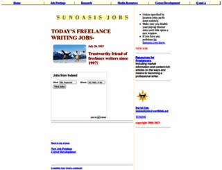 sunoasis.com screenshot